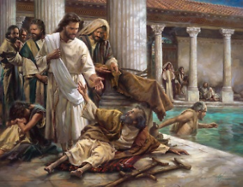 Jesus Heals a Lame Man by the Pool, John 5:1-18