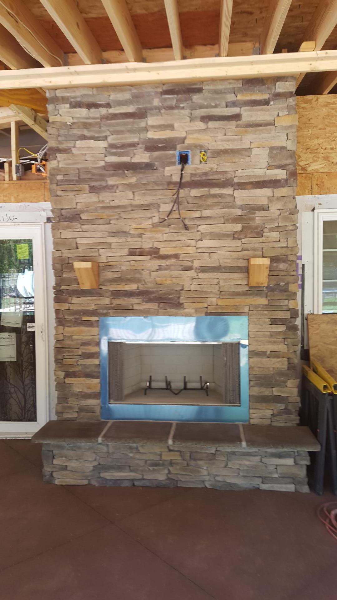 Joe M Staub Building Group Covered Patio With Outdoor