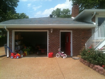 Garage to Bonus Room Remodel