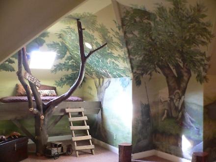 Tom Sawyer Bedroom