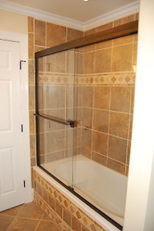 New Tub Shower