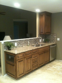 Renovated Kitchen with Open Wall