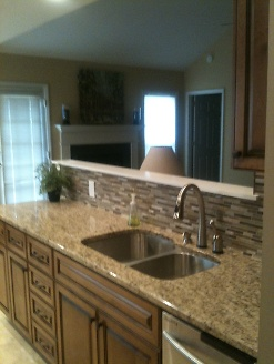 Full Kitchen Remodel with Backsplash
