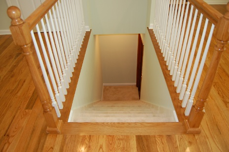 Stairway to Craft Room