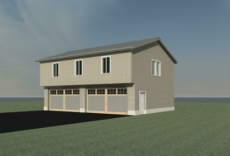 New Garage & Bonus Room