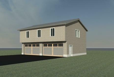 New Garage & Bonus Room