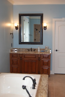 Renovated Master Bathroom