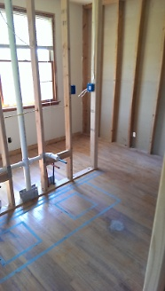 New Master Bath Plumbing Rough In