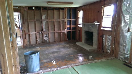 Interior after Wall Removal 2