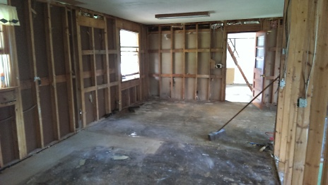 Interior after Wall Removal 3