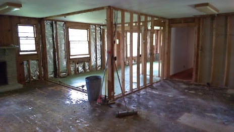 Interior after Wall Removal 4