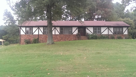 October 2013 - Before Renovation - Front View of Property