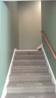 Staircase to bonus room