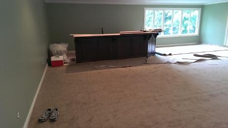 Carpet being installed 2