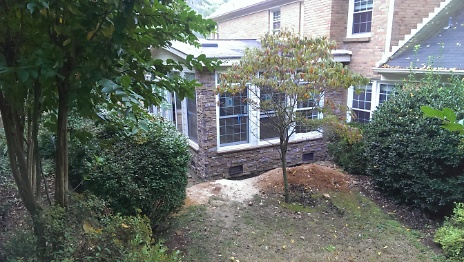 Stone Exterior Install 3