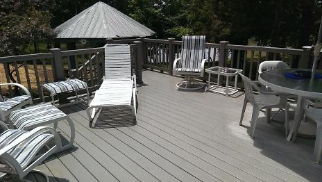 Finished deck off bonus room 2