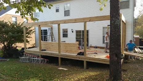 Deck Upper Rim Installed 2