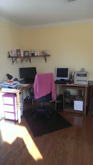Newly renovated office