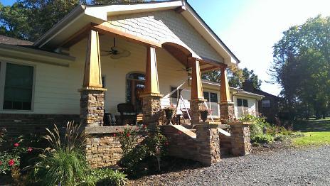 Front Porch with Western Cedar Columns