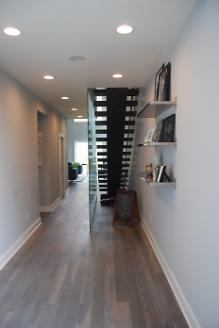 Customer Moved In, Floating Staircase