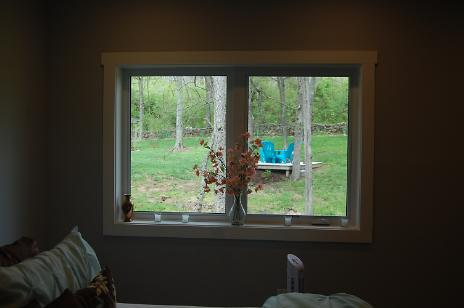 Customer Moved In - Exterior Basement Window
