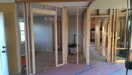 Framing in New Rooms