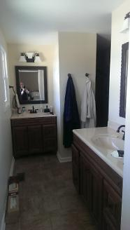 After - Converted Room to Bathroom