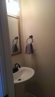 After - Bathroom Sink