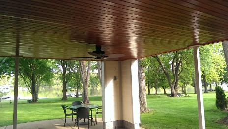 After - Covered Porch (Lake View)