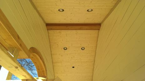 New Front Porch Ceiling