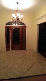 New Interior Main Entry (Front Door)