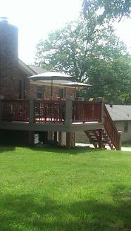 New Back Deck/Yard