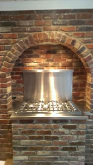 After - New Brick Stove