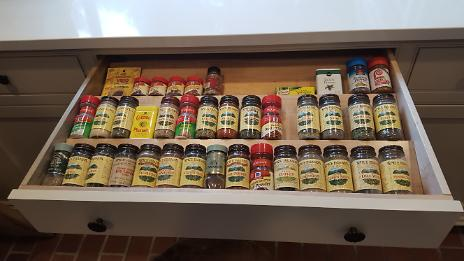 After - New Spice Drawer