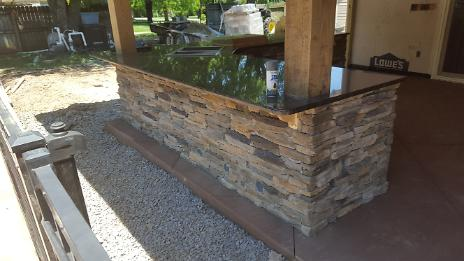 Kitchen Island Stone