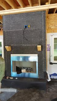 Fireplace Prep for Stone