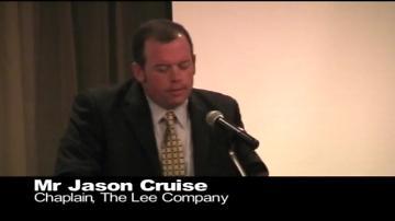 Closing Prayer - Mr Jason Cruise - Chaplain - The Lee Company